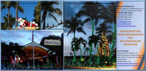 Weihnachtsgruesse aus Florida